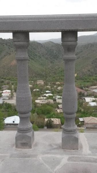 Balusters from  Sisian's  basalt